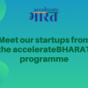 Meet our startups from the accelerateBHARAT programme